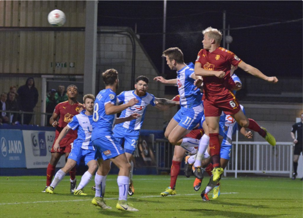 McEveley vs Hartlepool