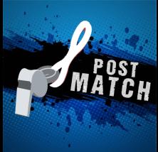 Post match graphic