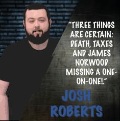 Josh ROBERTS GRAPHIC